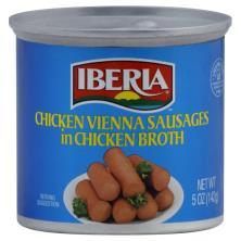 Iberia Sausages, Chicken Vienna