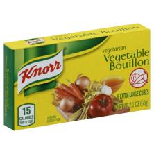 Knorr Bouillon, Vegetable, Cubes
