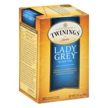 Twinings Black Tea, Lady Grey, Bags