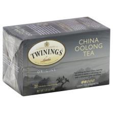 Twinings Origins Tea, China Oolong, Bags