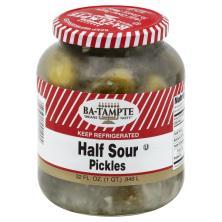Ba Tampte Pickles, Half Sour