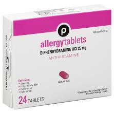 Publix Allergy, 25 mg, Tablets