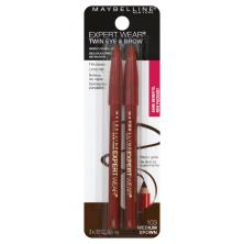 Maybelline Expert Eyes Twin Pencil Medium Brown