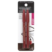 Maybelline Expert Wear Twin Brow & Eye Pencils, Dark Brown 102