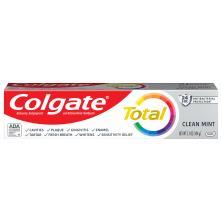Colgate Total Toothpaste, Anticavity Fluoride and Antigingivitis, Clean Mint, Paste