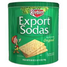 Keebler Crackers, Export Sodas