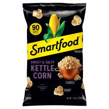 Smartfood Popcorn, Sweet & Salty Kettle Corn Flavored