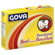 Goya Bouillon, Powdered, Beef Flavored