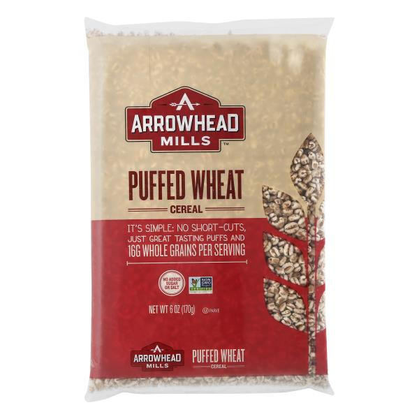 Arrowhead Mills Cereal, Natural, Puffed Wheat : Publix.com