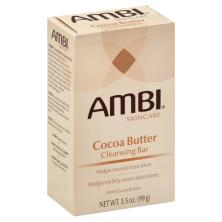 Ambi Skincare Cleansing Bar, Cocoa Butter