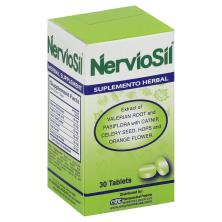 NervioSil Herbal Supplement, Tablets