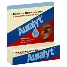 Auralyt Earwax Removal Aid, with Dropper