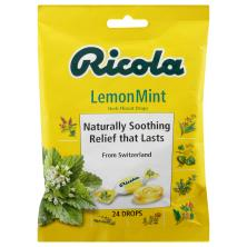Ricola Throat Drops, Herb, LemonMint