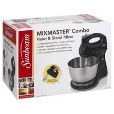 Sunbeam Mix Master Hand & Stand Mixer, Combo