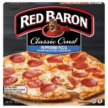 Red Baron Pizza, Classic Crust, Pepperoni