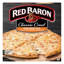 Red Baron Pizza, Classic Crust, 4 Cheese