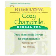 Bigelow Herbal Tea, Cozy Chamomile, Caffeine Free, Bags