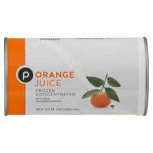 Publix Orange Juice, Frozen Concentrated