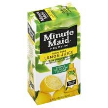 Minute Maid Premium 100% Juice, Lemon, Pure