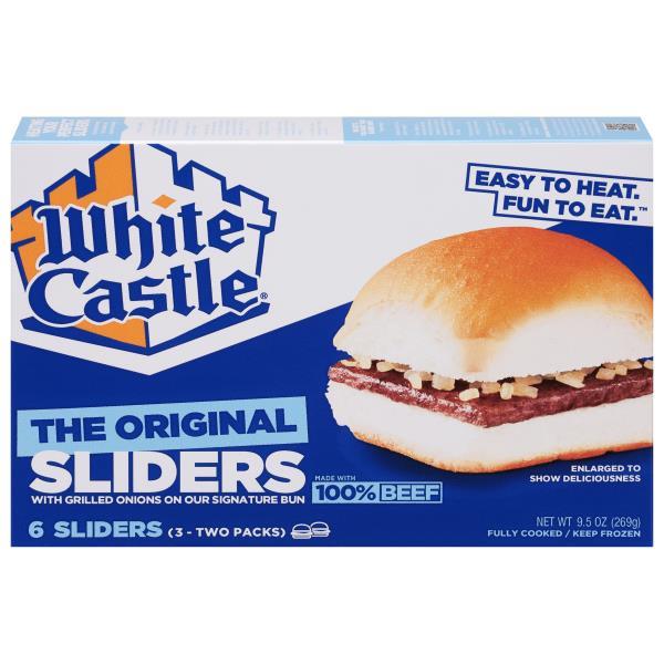 White Castle Sliders Hamburgers, The Original Slider : Publix.com