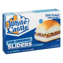 White Castle Sliders Hamburgers, The Original Slider