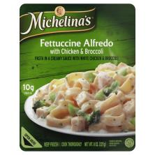 Michelinas Authentico Fettuccine Alfredo, with Chicken & Broccoli