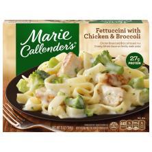 Marie Callenders Fettuccini, with Chicken & Broccoli