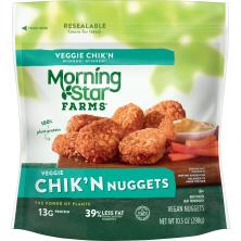 MorningStar Farms Chik'n Nuggets, Veggie