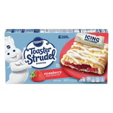 Pillsbury Toaster Strudel Pastries, Strawberry