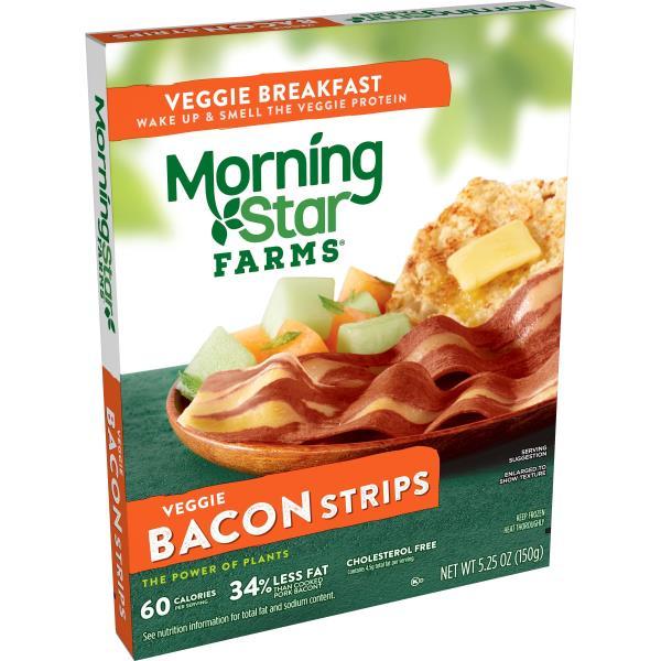 MorningStar Farms Breakfast Veggie Bacon Strips