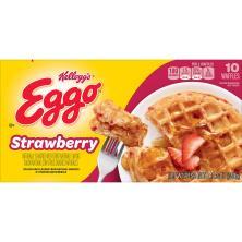 Eggo Waffles, Strawberry