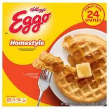 Eggo Waffles, Homestyle, Family Pack