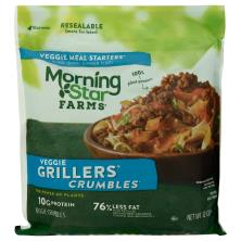 MorningStar Farms Meal Starters Grillers Crumbles, Veggie