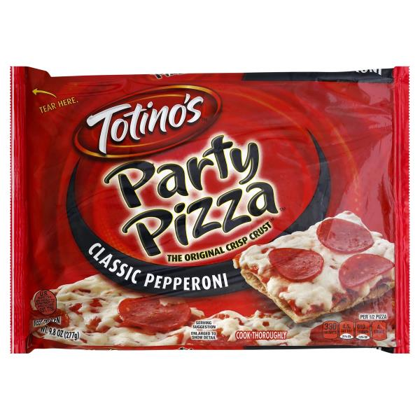 Totinos Pizza, Party, Classic Pepperoni