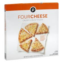 Publix Pizza, Crispy Crust, Four Cheese