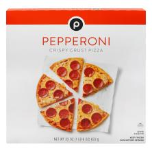 Publix Pizza, Crispy Crust, Pepperoni