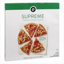 Publix Pizza, Crispy Crust, Supreme