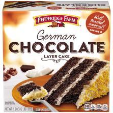 Pepperidge Farm Cake, 3-Layer, German Chocolate
