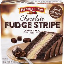 Pepperidge Farm Cake, 3-Layer, Fudge Stripe