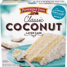 Pepperidge Farm Cake, 3-Layer, Coconut