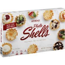 Athens Fillo Shells, Mini