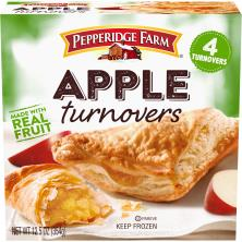 Pepperidge Farm Turnovers, Puff Pastry, Apple
