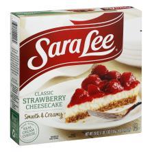 Sara Lee Cheesecake, Original Cream, Strawberry