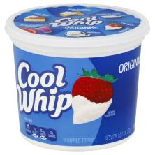 Cool Whip Whipped Topping, Original