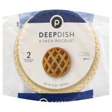 Publix Pie Crusts, Frozen, 9 Inch