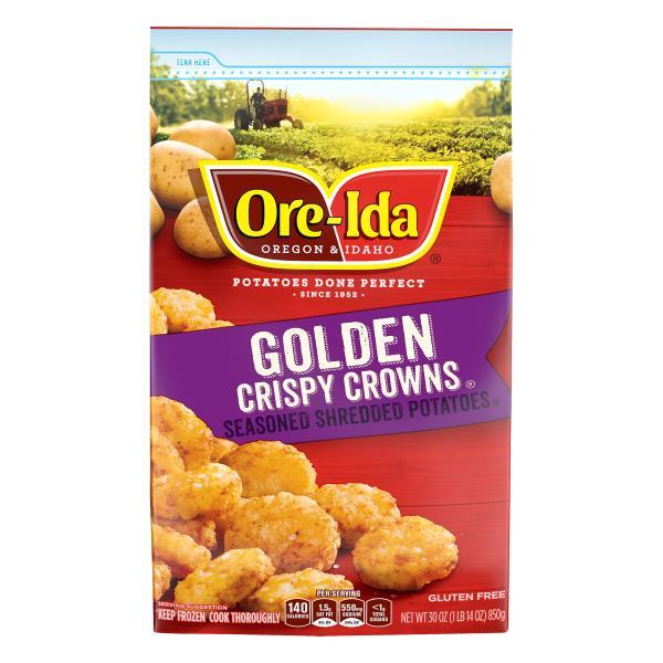 Ore Ida Crispy Crowns!