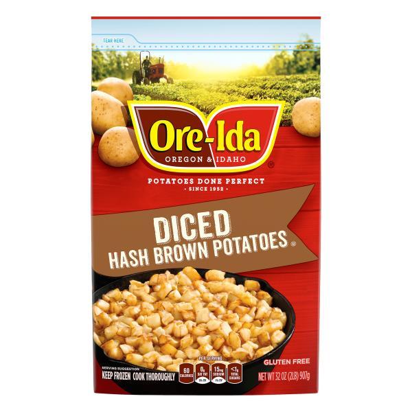 Ore Ida Hash Brown Potatoes, Diced