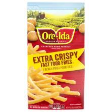 Ore Ida Fast Food Fries, Extra Crispy