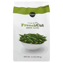 Publix Green Beans, French Cut, Steam-in-Bag