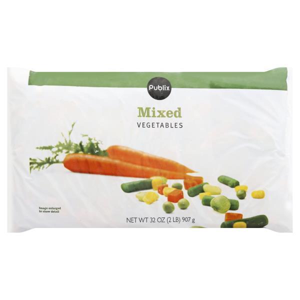Publix Mixed Vegetables